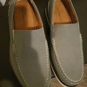 New GH Bass mens leather loafers size 8
